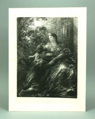 Duo Des Troyens (6º Planche) by Henri Fantin-Latour at
