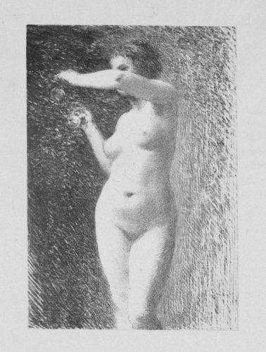 Etude Pour Eve by Henri Fantin-Latour at