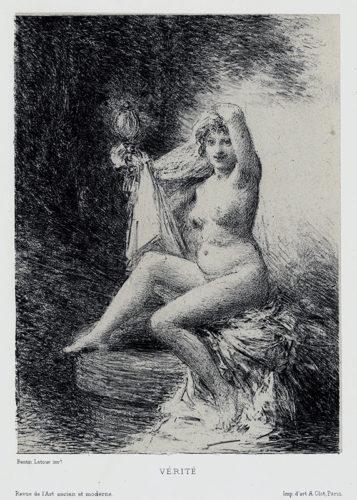 Vérité (petite Planche) by Henri Fantin-Latour at