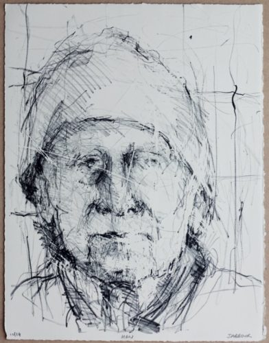 Man by Henry Jabbour at De Lacey Fine Art