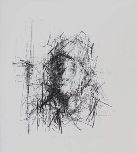 Study Of A Head by Henry Jabbour