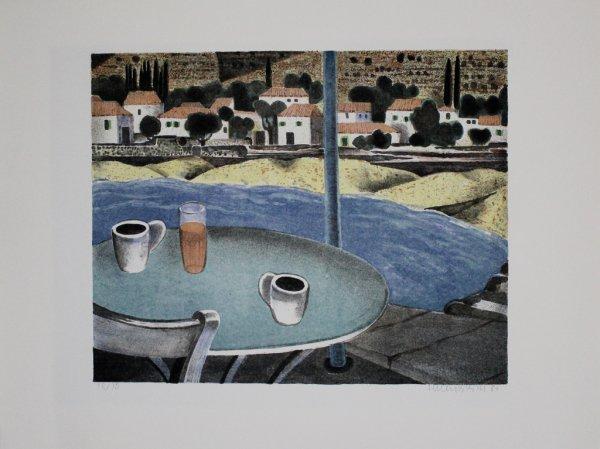 Das Café by Herbert Breiter