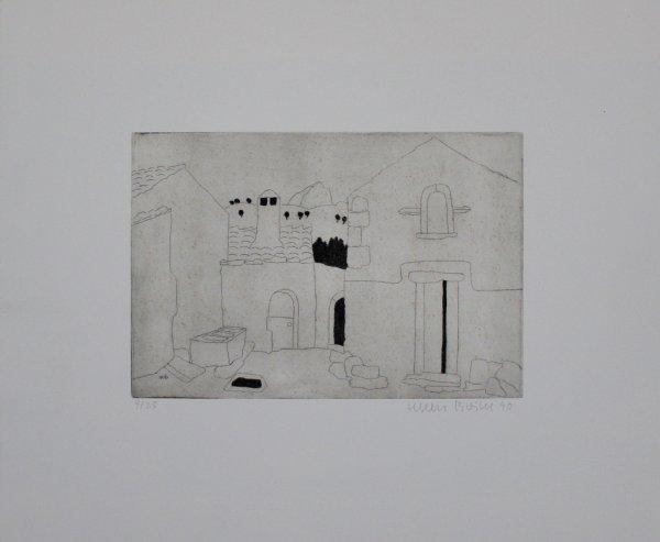 Hausfassade by Herbert Breiter