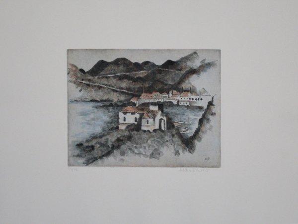 Häuser Am Hafen by Herbert Breiter