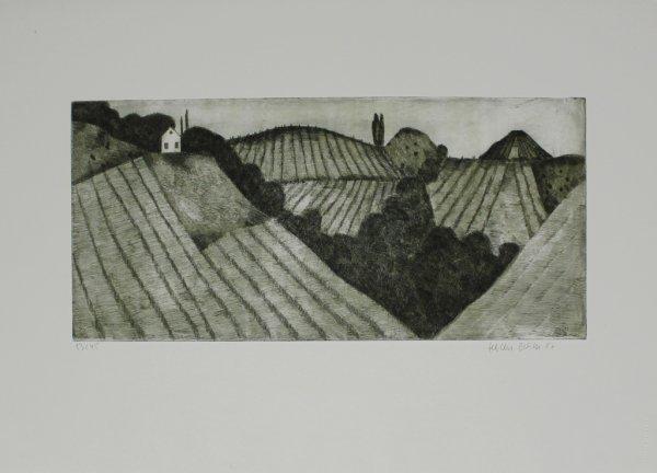 Steirische Landschaft by Herbert Breiter