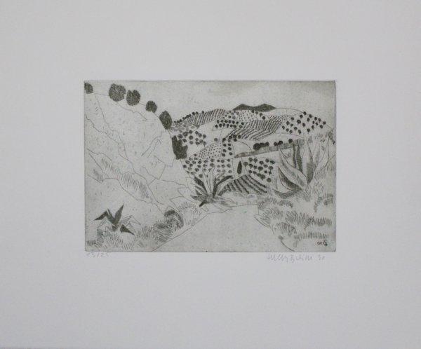 Toskanische Landschaft by Herbert Breiter