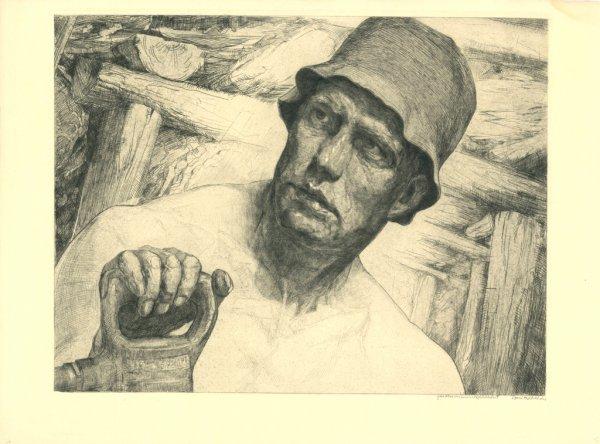 Arbeiter / Worker by Hermann Kätelhön