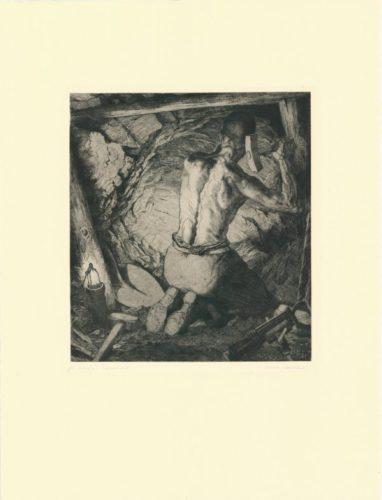 Bergmann / Miner by Hermann Kätelhön