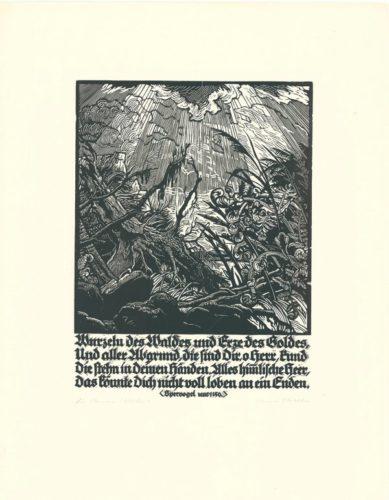 Wurzeln Des Waldes by Hermann Kätelhön