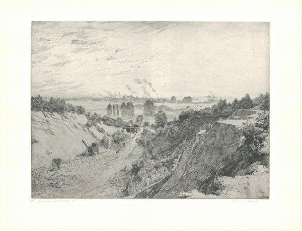 Zeche Am Niederrhein by Hermann Kätelhön