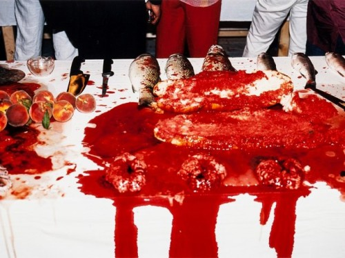 Performance 2003 by Hermann Nitsch