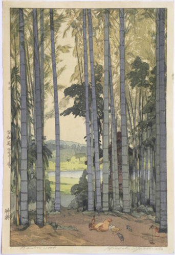 Bamboo Grove by Hiroshi Yoshida