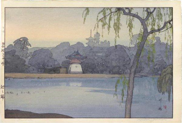 Ikenohata by Hiroshi Yoshida