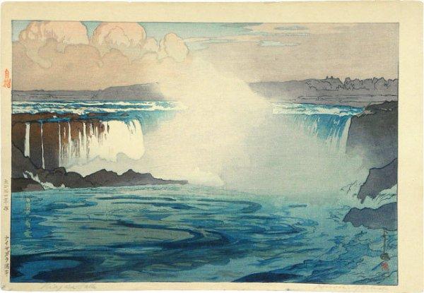 The United States Series: Niagara Falls by Hiroshi Yoshida
