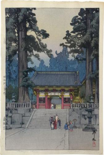 Toshogu Shrine by Hiroshi Yoshida