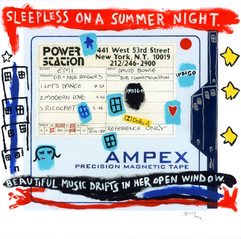 Ampex 'let's Dance' Collaboration by Horace Panter