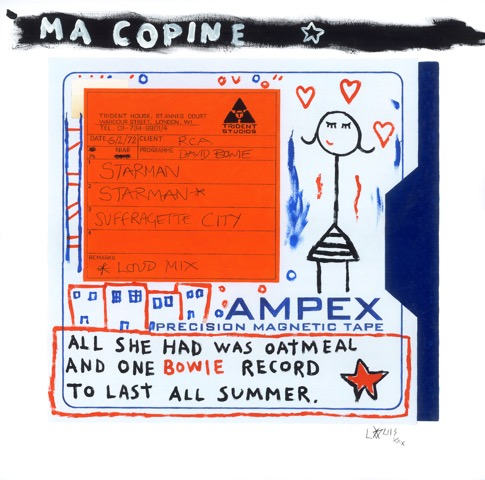 Ampex 'starman' Collaboration With Louis Cannizzar by Horace Panter