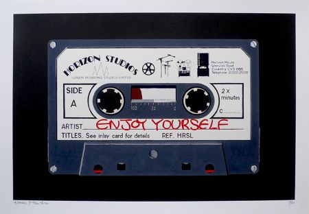 Enjoy Yourself – Black by Horace Panter