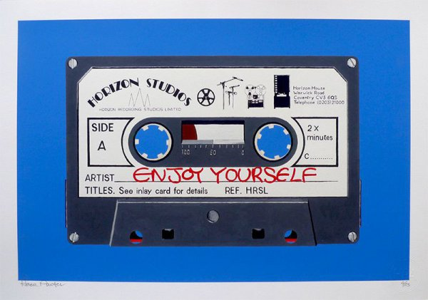 Enjoy Yourself – Blue by Horace Panter