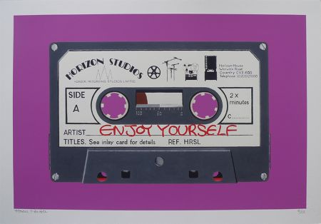 Enjoy Yourself – Pink by Horace Panter