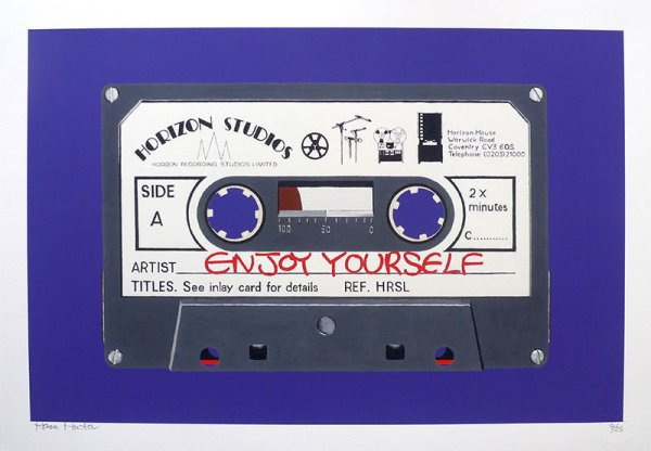Enjoy Yourself – Purple by Horace Panter