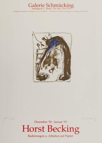 Radierungen Und Arbeiten Auf Papier by Horst Becking