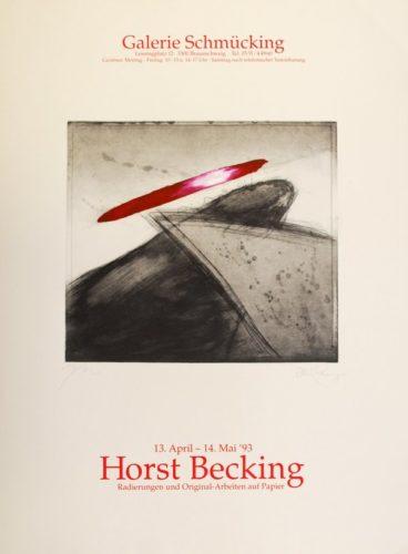 Radierungen Und Original-arbeiten Auf Papier by Horst Becking
