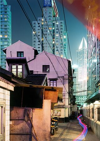 Yan 'an Donglu, Shanghai by Horst & Daniel Zielske