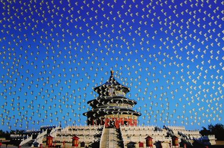 Temple Of Heaven by Huang Yan at www.kunzt.gallery