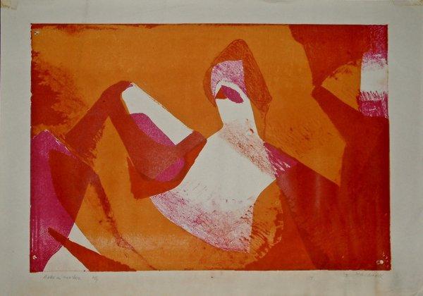 Ballo In Maschera by Hubert Andrew Freeth at