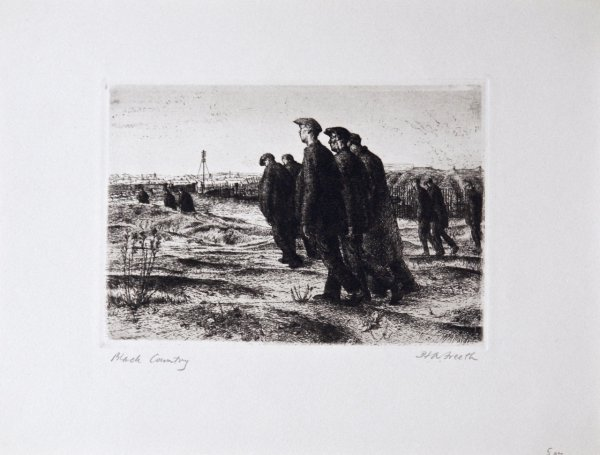 Black Country by Hubert Andrew Freeth at