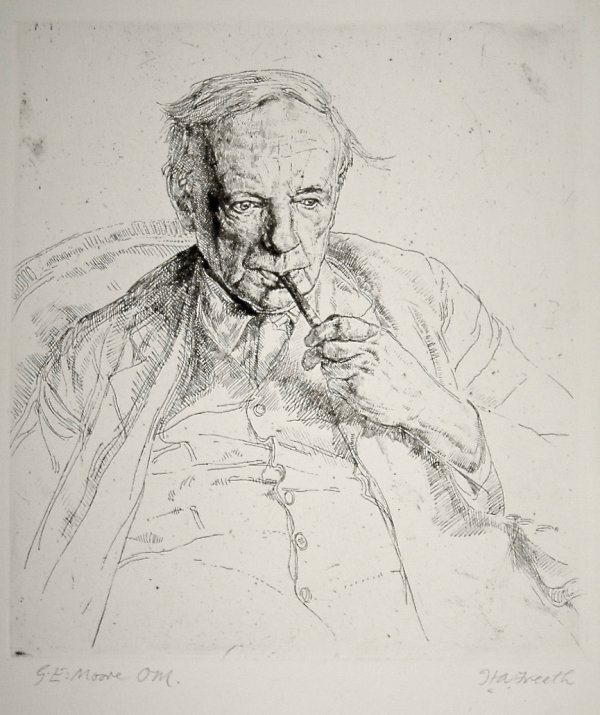 G.e. Moore by Hubert Andrew Freeth