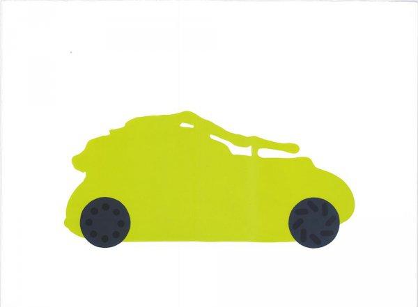 Car by Humphrey Ocean RA at