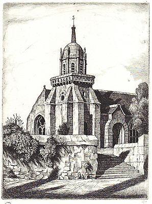 Church Of Perros-guirec by Ian Strang