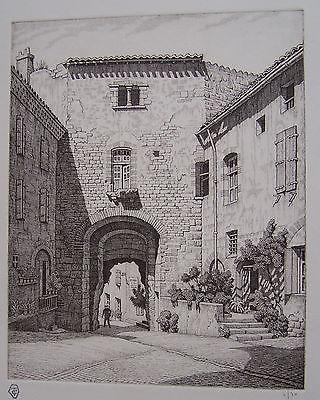 Porte Des Ormeaux, Cordes by Ian Strang