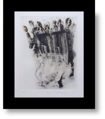 Staffa Ii by Ian McKeever
