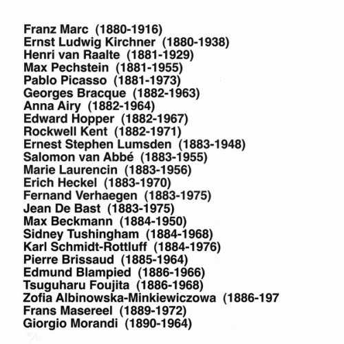 Portfolio History Of Printmakers (287 Names) by Ignasi Aballí