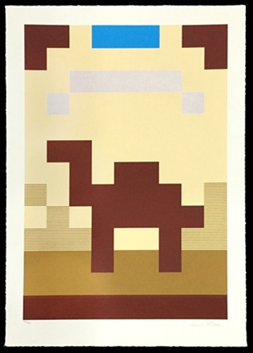 Camel by Invader