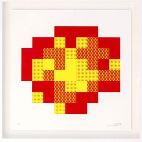 Explosion by Invader