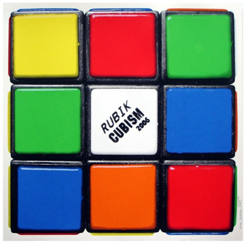 Rubik Cubism (first Edition) by Invader