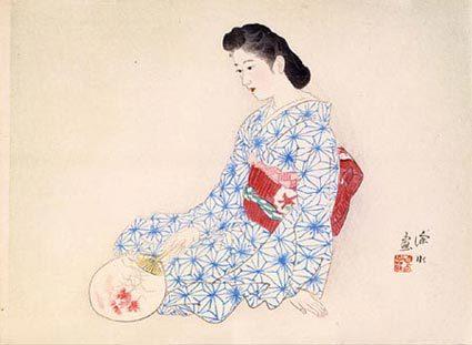 Ideal Japanese Woman by Ito Shinsui at Ito Shinsui