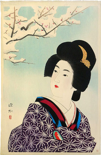 Morning After Snow by Ito Shinsui