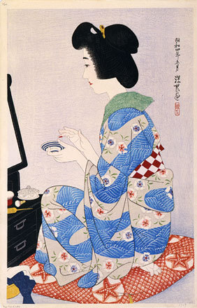 The First Collection Of Modern Beauties: Rouge by Ito Shinsui at Ito Shinsui