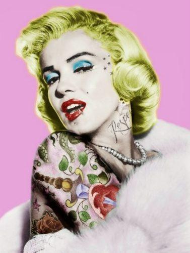 Marilyn Monroe by JJ Adams