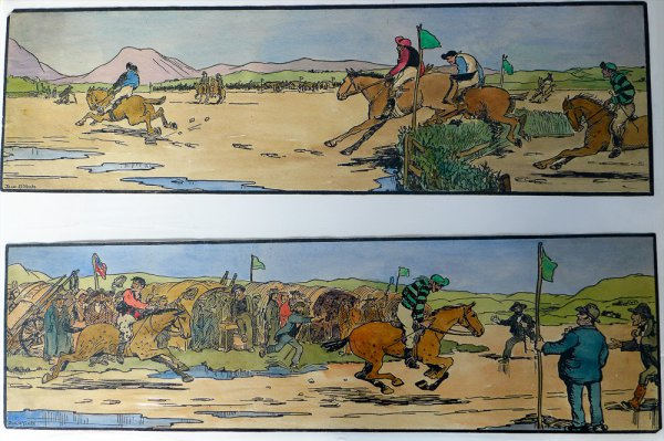 The Strand Races – The Start & The Finish by Jack B. Yeats