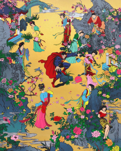 The Erotic Dream Of The Red Chamber by Jacky Tsai