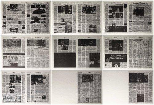 Frankfurter Allgemeine by Jacob Kassay