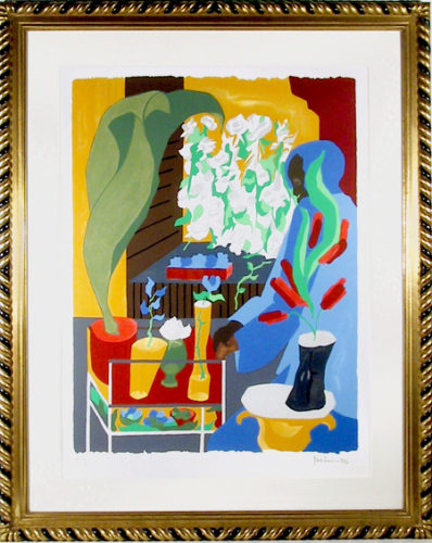Supermarket-flora by Jacob Lawrence at