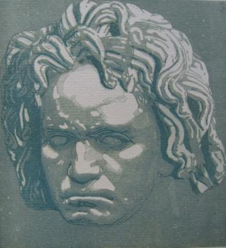 Beethoven by Jacques Beltrand