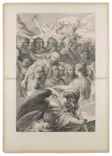 Divine Justice & The Angelic Guards by James Barry